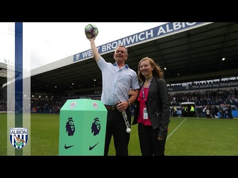 Blind Dave awarded the Freedom of The Hawthorns