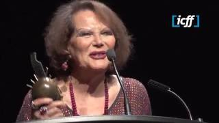 Icff 2016 - Claudia Cardinale Lifetime Achievement Award