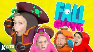 FALL GUYS Family Battle!!! K-CITY GAMING
