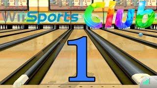 Wii Sports Club - Gameplay (Online) [Part 1 - Bowling - 10-Pin Game]