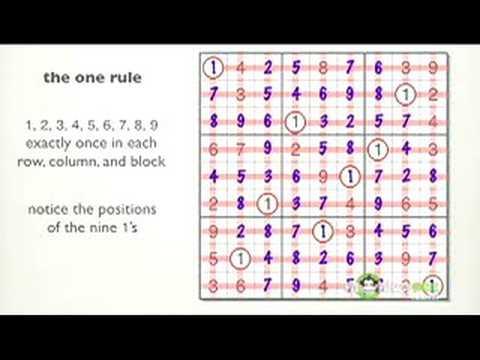 Basic Rules Of Sudoku