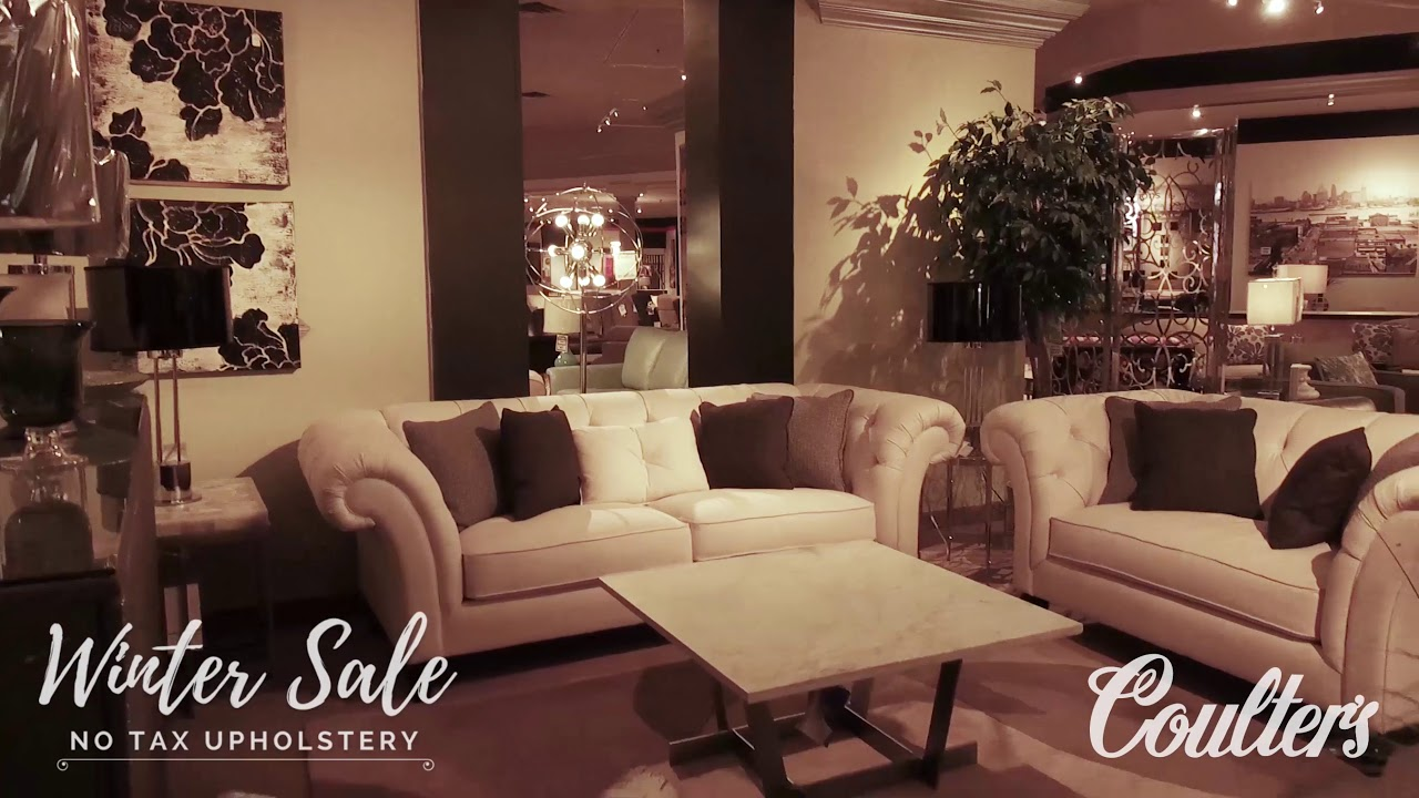 Merveilleux Coulteru0027s Winter Sale   No Tax Upholstery. Coulteru0027s Furniture