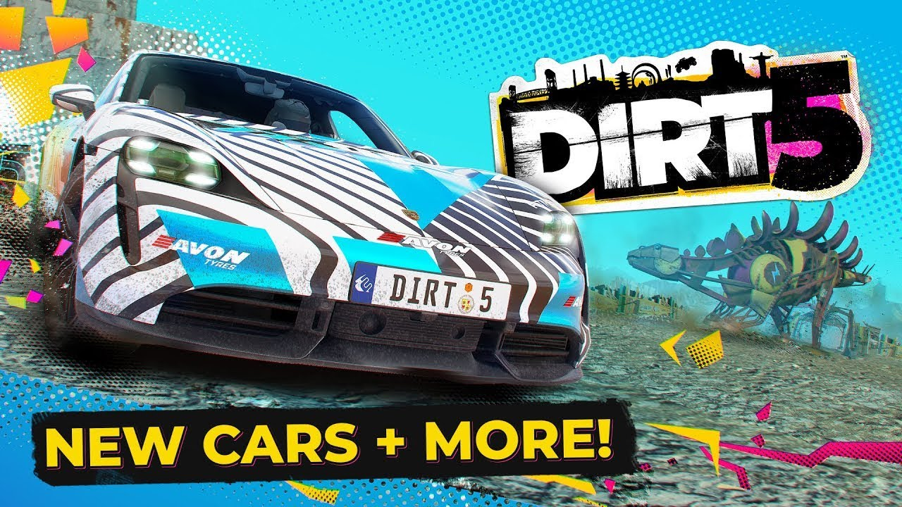 DIRT 5 Energy Free Content Pack, Junkyard Playgrounds and more