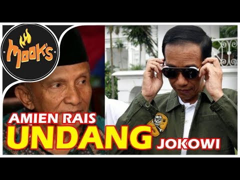 'Amien Rais, Jangan Kau Pikir Jokowi Tak Berani Mendatangi Rumahmu!!!'