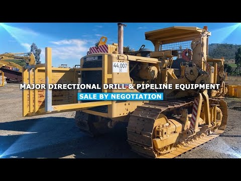 MAJOR PIPELINE & DIRECTIONAL DRILLING SALE CAMPAIGN