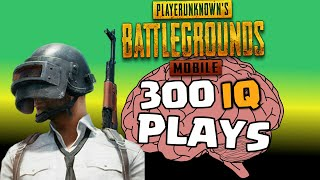 PUBG MOBILE - SOME GENIUS PLAYERS GAMEPLAY FOOTAGE ( Best iQ Plays )