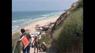 Нетания и не только.. Видео прогулка по Израилю(Нетания, парк