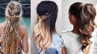 8 Easy Winter Hairstyle Ideas | Winter hairstyles |Part-6
