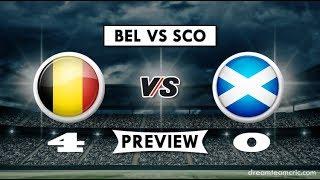 Hasil Pertandingan Kualifikasi Euro 2020 Tadi Malam Skotlandia vs Belgia 0-4