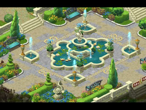 GARDENSCAPES NEW ACRES Android/ iOS Gameplay Story Playthrough | Day 2, 3 and 4