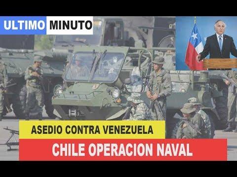 Noticias de Venezuela hoy: CHILE bloqueo naval y comunicaciones contra MADURO, lo pone en 3y2