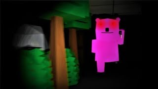CHASED BY A GIANT PINK BEAR! Shopping Nightmare (remastered) - Horror Game (complete)
