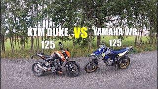 Yamaha WR 180 ir KTM DUKE apžvalga!