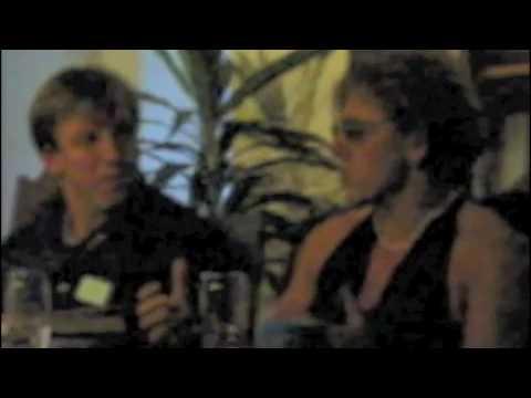 Catherine Robbe-Grillet et Nathalie Gassel