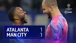 Atalanta vs Man City (1-1) | UEFA Champions League Highlights