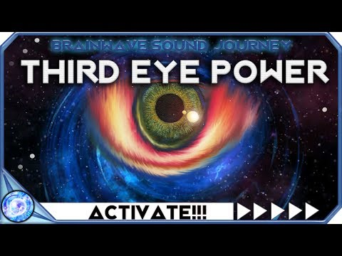 WARNING!!! ACTIVATE THIRD EYE POWER - USE IF READY - DEEP SHAMANIC JOURNEY TO ACTIVATE THIRD EYE