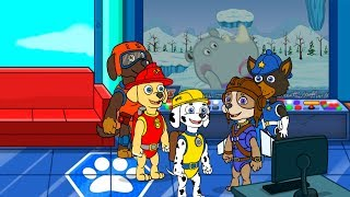 Щенячий детский патруль ролевая игра с командой щенков Спасателей веселый игромульт