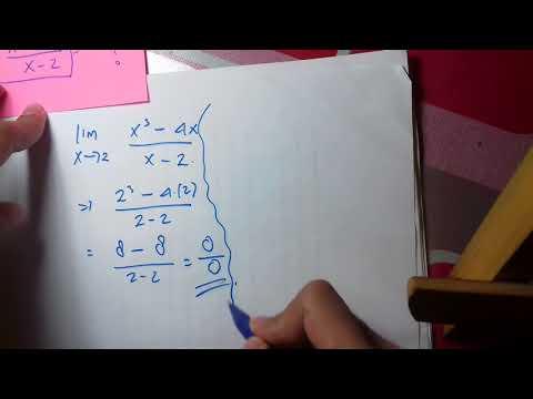 Soal materi limit tak tentu (1)