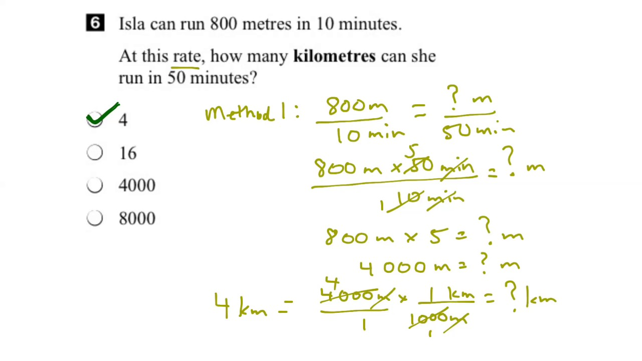 EQAO Grade 6 Math 2016 Question 6 Solution - YouTube