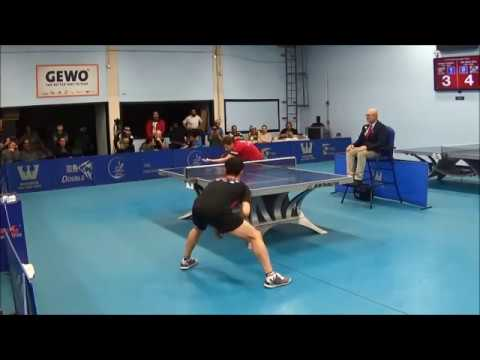 Westchester Table Tennis Center February 2019 Open Singles Final - Robert Gardos Vs Tae Hoon Kim