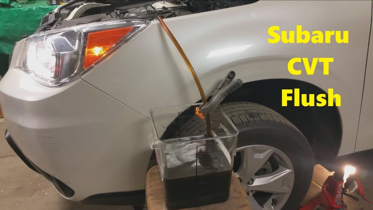 2015 Subaru Forester 2 5 CVT Transmission Flush