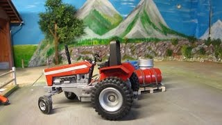 RC TRACTOR  ACTION - Tomy the Troublemaker -  rc toy fun