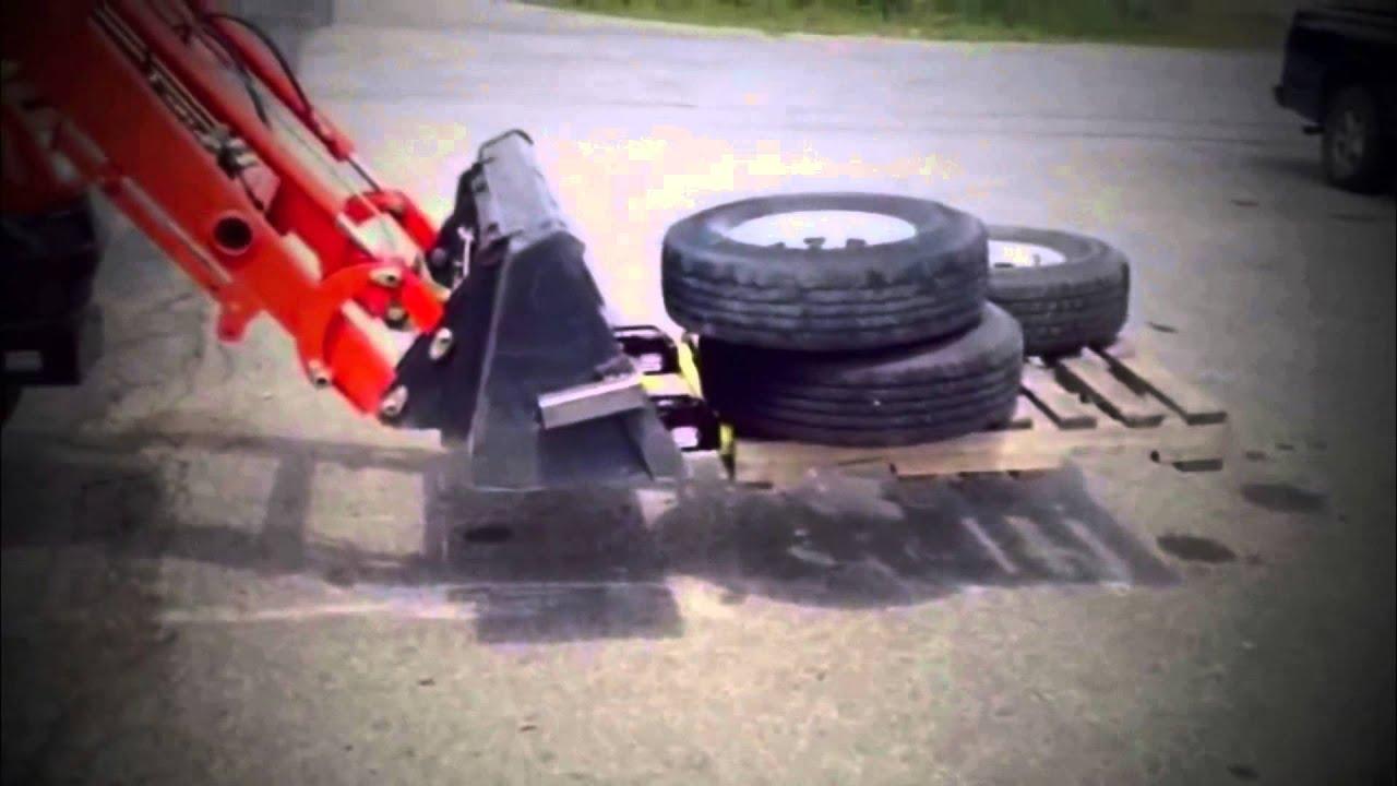 Skid Steer Bucket Forks & Tractor Paynes