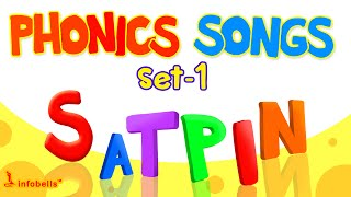 Phonics songs for Children Collection Part 1 | infobells