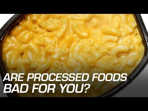 Are All Processed Foods Bad for You?