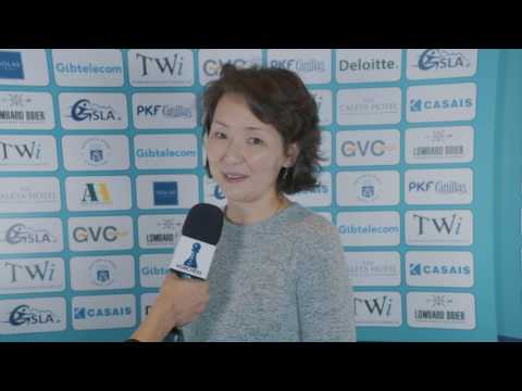 Round 4 Gibraltar Chess post-game interview with Tuvshintugs Batchimeg