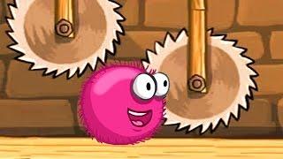 Красный ШАР против шмелей и ежей Red Ball Мультик игра для детей frizzle fraz часть 2 - 2