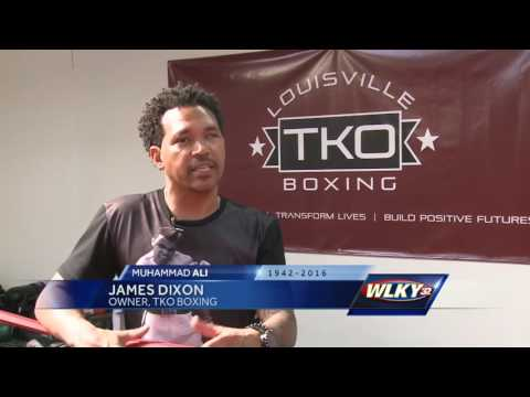 Local boxing gym extends hours in honor of Muhammad Ali.
