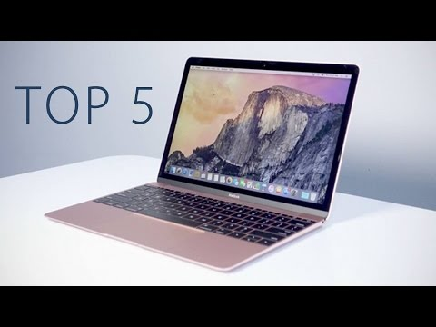 Top 5 Laptops (2017)