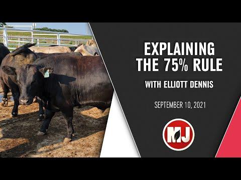 Explaining the 75% Rule | Elliott Dennis | September 10, 2021
