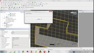 Видеоурок CADFEM VL1403 - Моделирование движения корабля в ANSYS Fluent