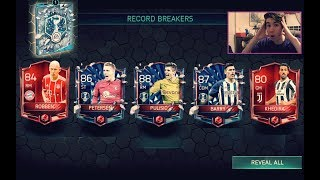 FIFA Mobile 18 BIGGEST RECORD BREAKER PACK OPENING YET!! *INSANE* PULLS w/ Road to Riches Packs!