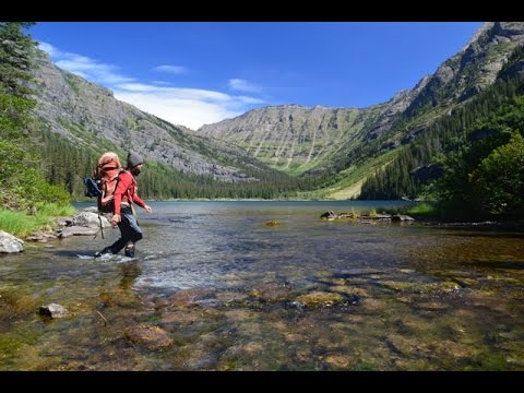 Backpacking Glacier National Park: The Dutch Lake, Nirvana Pass, Camas Creek Loop