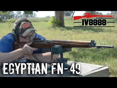 Egyptian FN-49 8x57mm