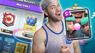 MASTERS CHEST and NEW CARD! Rascals are here! Clash Royale