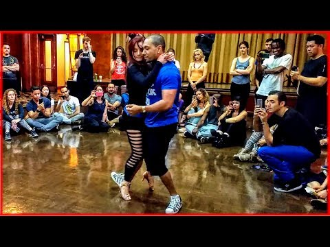 Kadu Pires & Larissa Thayane - Zouk Dance Demo at the 2017 Los Angeles Zouk Congress