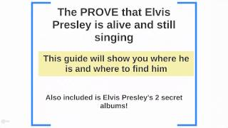 [DOWNLOAD][FREE] Elvis Presley Exclusive Secret Albums 2014!