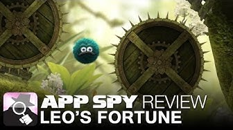Leo's Fortune   iOS iPhone / iPad Gameplay Review - AppSpy.com