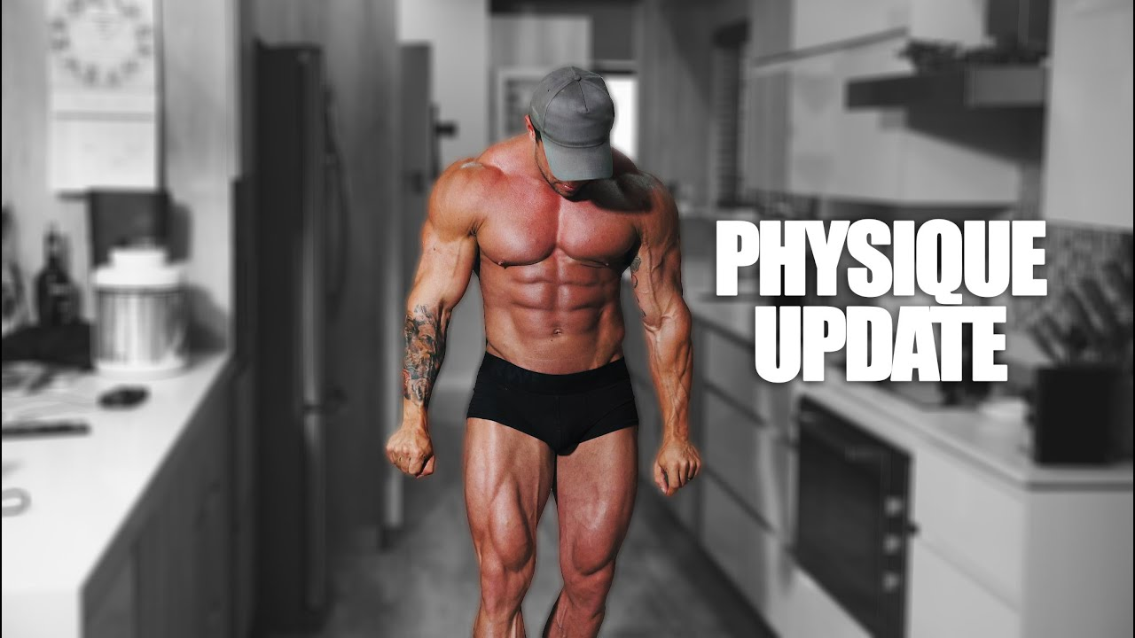 My Physique Update After 10 Days No Training   Jaco De Bruyn   Muscle Model