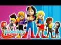 LEGO Episódio completo Compilação   DC Super Hero Girls Brasil