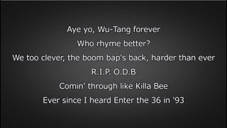 Logic - Wu Tang Forever (Lyrics)
