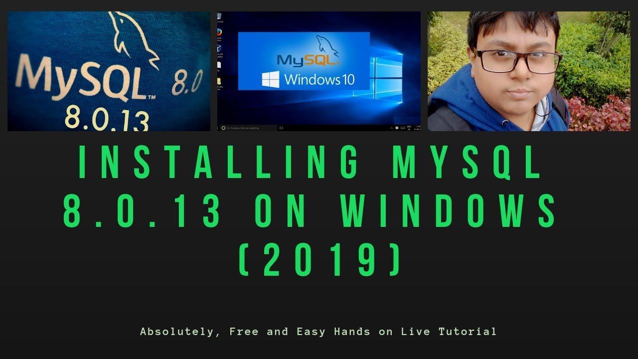 Mysql for windows server 2016.