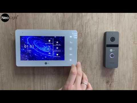 NeoLight NeoKIT HD - 7-ми дюймовый FULL HD домофон с панелью