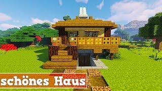 Wie baut man ein Haus in Minecraft | Minecraft Haus Bauen