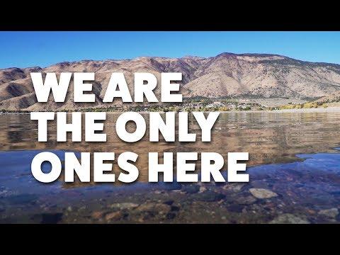 Camping On Lake Topaz In California
