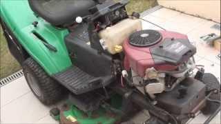 Réparations sur l'autoporté John Deere